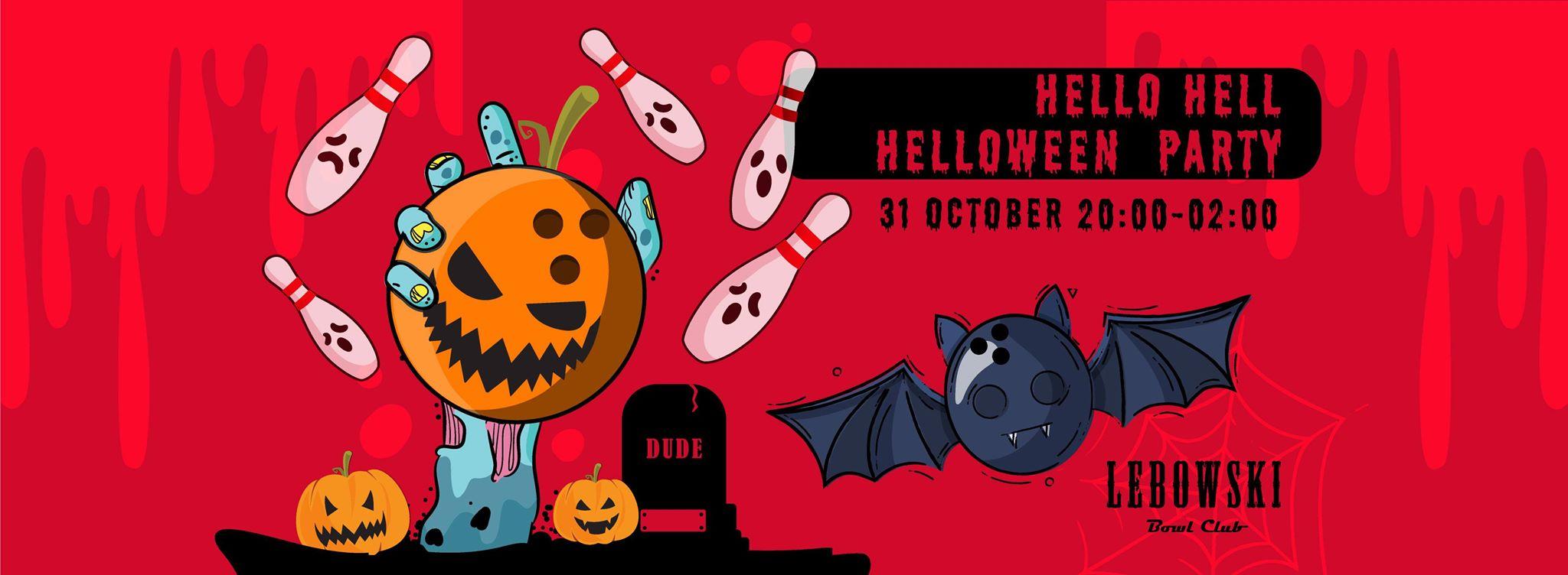 Hello Hell Halloween Party at Lebowski photo