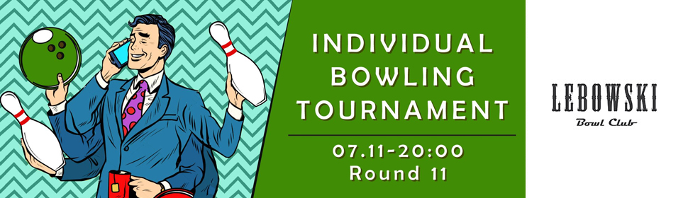 Individual bowling tournament, Round #11 photo