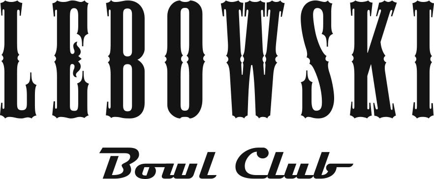 Lebowski Bowl Club logo