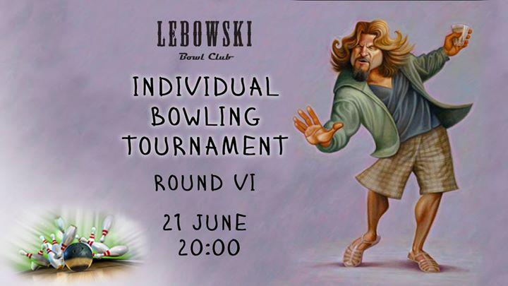 Bowling Individual Tournaments Round #6 photo