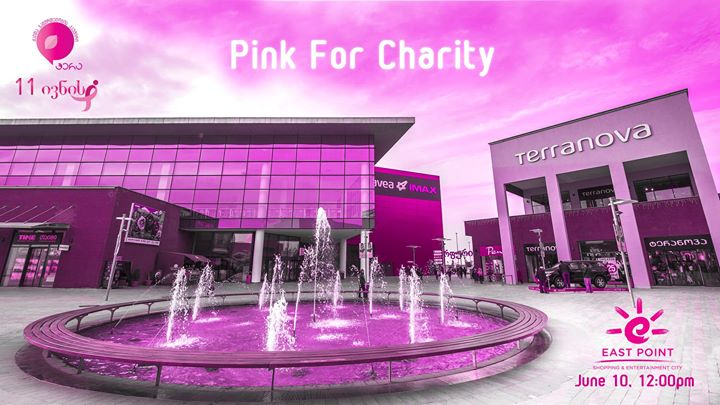 Pink for charity at East Point photo